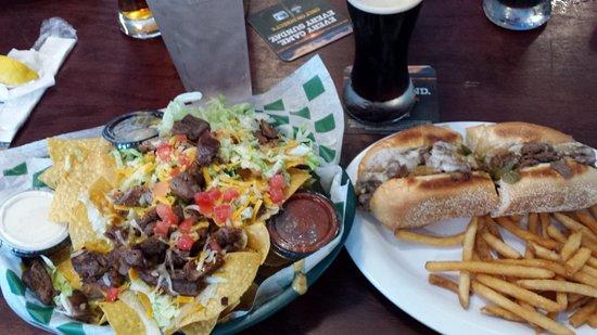 Hudson, FL: Great bar food...