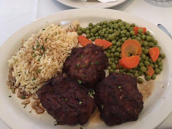 Mykonos Greek Restaurant : David's Keftedes