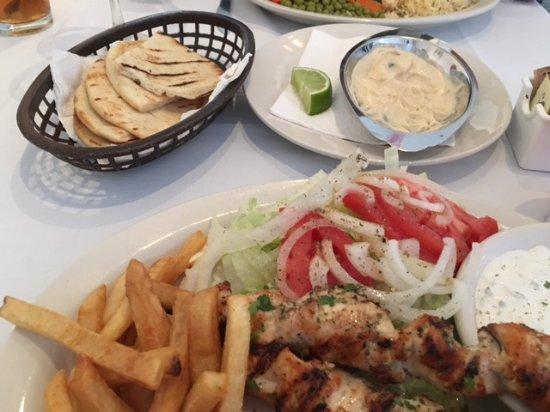 Mykonos Greek Restaurant : Hummus