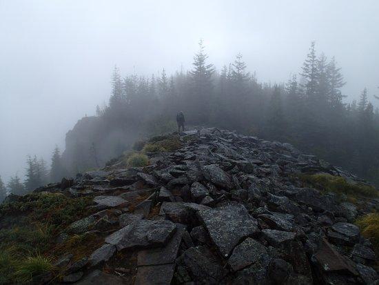 Hood River, Орегон: rocky crossing