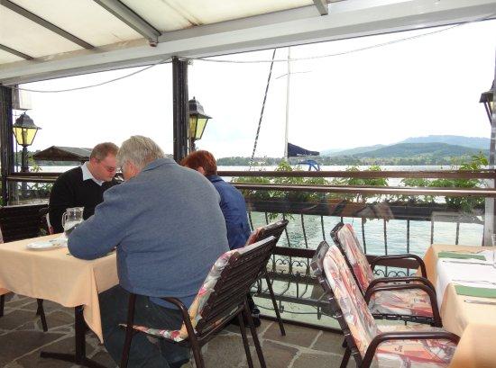 Seewalchen am Attersee, Австрия: Terrasse