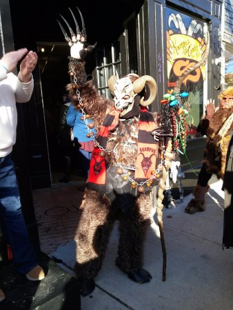 Asbury Park, NJ: Krampuslauf 2016 at the Paranormal museum