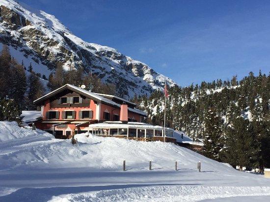 Hotel Roseg Gletscher: Hotel Restaurant Roseg Gletscher