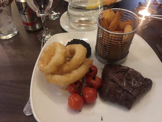 Creebridge House Hotel : A very disappointing steak.