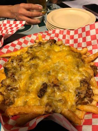 Aubrey, TX: Chili cheese fries