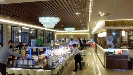 Wiesloch, Deutschland: Das Buffet