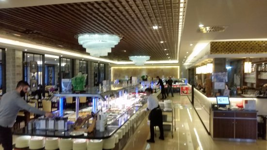 Wiesloch, Alemania: Das Buffet