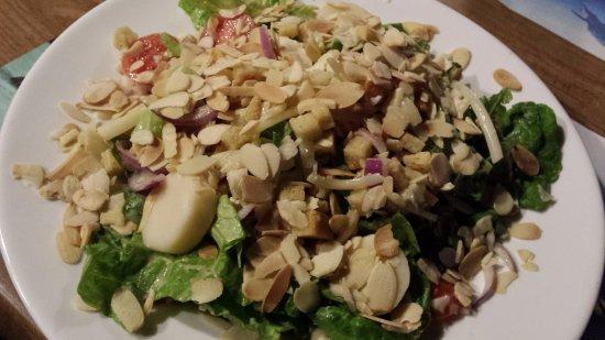 Ashkelon, Ισραήλ: caesar salad