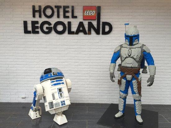 Hotel LEGOLAND: indgangen