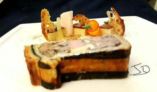Granville, France: Pâté en croûte de canard et foie gras