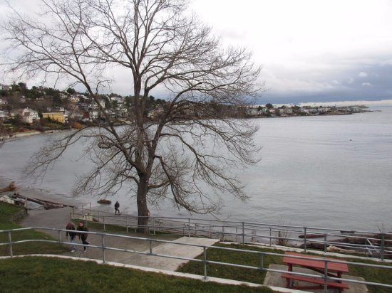 Oak Bay, Canadá: Viewing Area