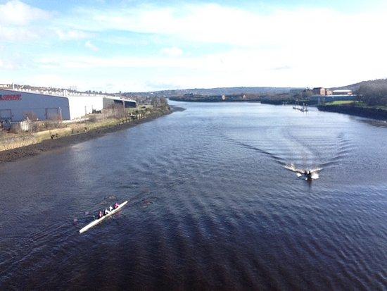 Swalwell, UK: View from Scotswood Bridge