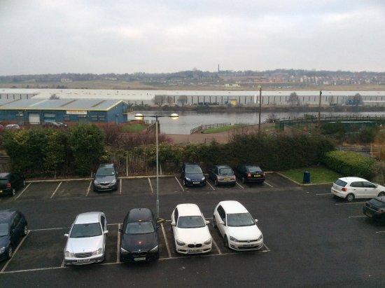 Swalwell, UK: Car Park