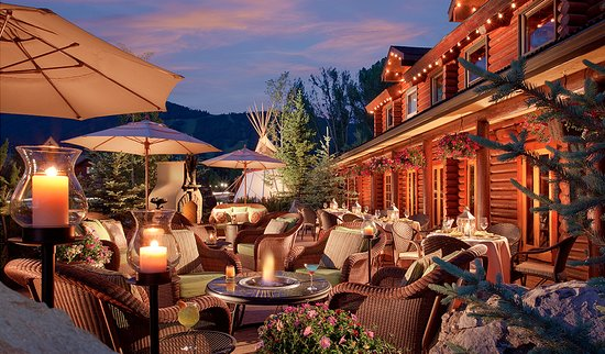 Rustic inn creekside resort and spa at jackson hole for The deck jackson hole