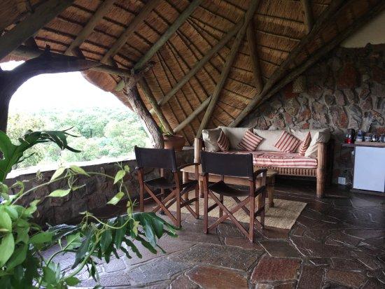 Ant's Hill & Ant's Nest: overdekt balkon bij de kamer Eagle's nest