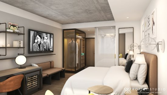 A Suite At Renaissance Atlanta Airport Gateway Hotel