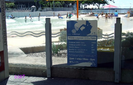 Wave Lagoon: Entry Fee