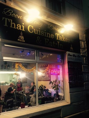 Thai Restaurant Exeter Street Plymouth