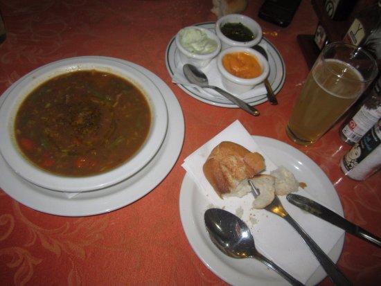 Arrieta, Espanha: sopa del dia exquisita