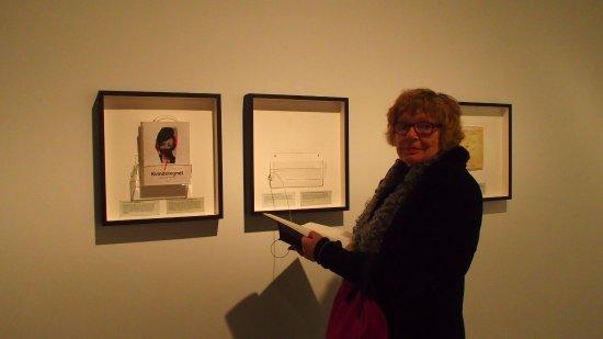 Zelandia, Dinamarca: Alice Faber på besøg ved Kvindetegnet