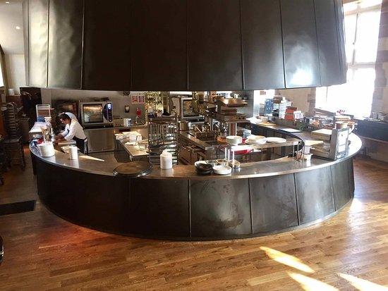 the kitchen - Picture of Brasserie Les Haras, Strasbourg - TripAdvisor