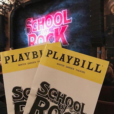 Stage Play Bill Bild Von School Of Rock The Musical New York