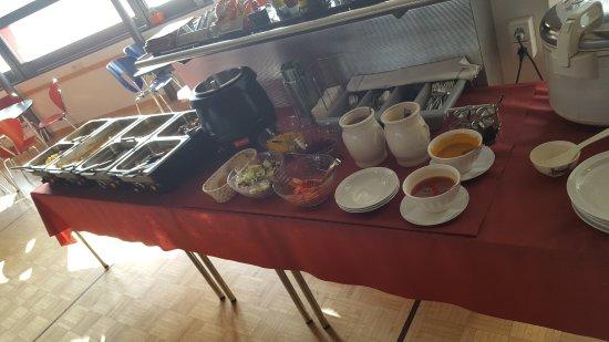Schwyz, Switzerland: salatbuffet