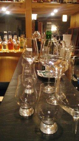Hotel Oberstdorf: Bar .... Whiskeyprobe