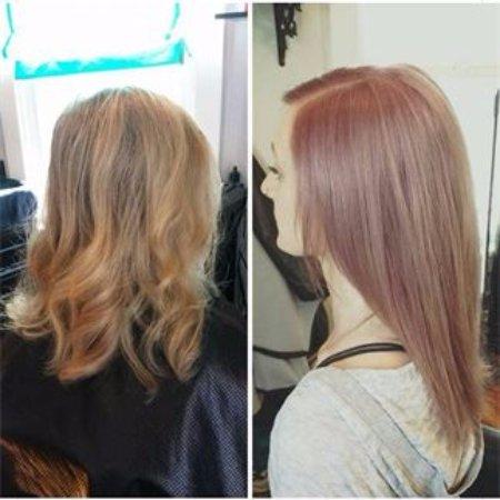 Wheat Ridge, CO: Rose gold Haircolor and Haircut by Jen