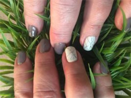 Wheat Ridge, CO: Luxury Gel Manicure with Marble nail art by Tani