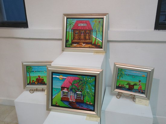 Speightstown, Barbados: Pieces from Maureen Traceys exhibition