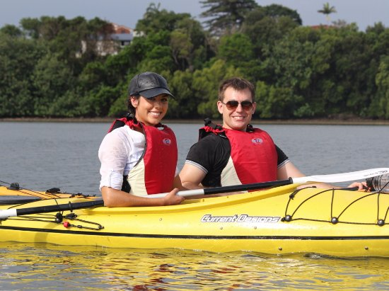 Ballina Kayaks fun for romantic couples