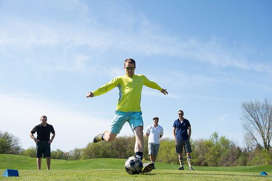 Plymouth, MI: Experience FootGolf at Fox Hills! Corporate Teambuilding & birthday parties are our specialties!