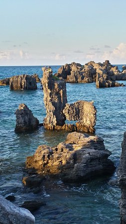 St. George, Bermuda: Rock formations
