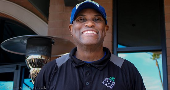 Fountain Hills, AZ: Donald our lovely server.. very helpful and happy service Thank you Donald!.