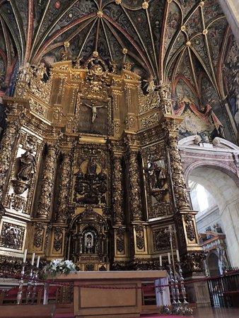 logrono co cathedral santa maría de la redonda interior xvii
