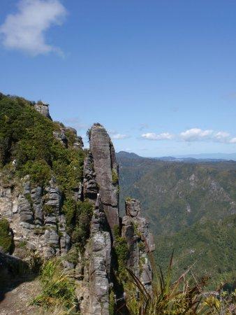 Kauaeranga Valley Visitor's Centre : diese Landschaft beeindruckt ( Kauaeranga )