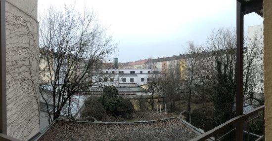 Hotel Aurbacher: interior square view
