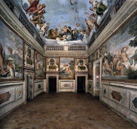 Bassano Romano, Ιταλία: una delle splendide stanze con affreschi a tema