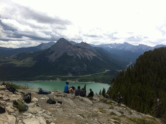 Kananaskis Country, Canada: Lookout on the ridge