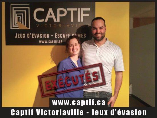Participants Captif Victoriaville