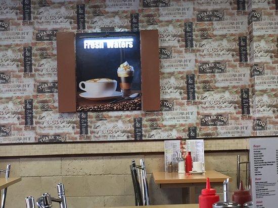 Loughton, UK: Inside of Cafe
