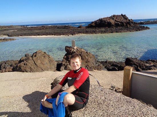 Pierre: great snorkeling at Lobos