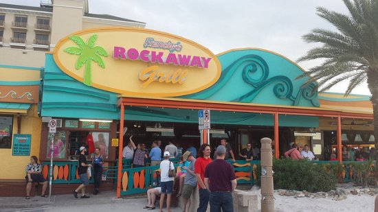 Frenchy S Clearwater Beach Restaurants The Rockaway Grill Cafe