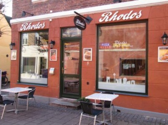 Kalundborg, Danimarca: Rhodos Cafe & Pizzeria