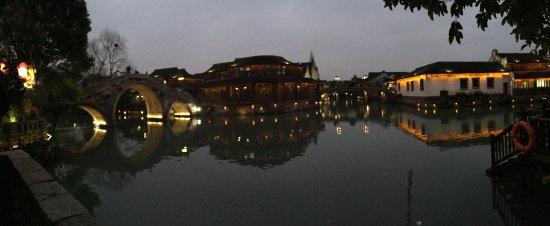 Tongxiang, Cina: Wuzhen Water Town Panoramica
