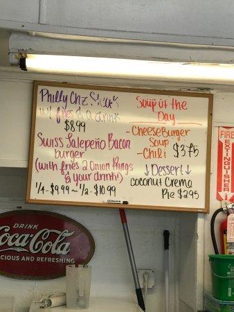 Palatka, FL: great burgers!