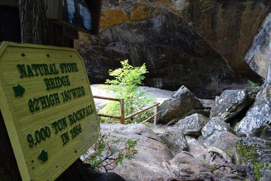 Pottersville, Estado de Nueva York: Natural Stone Bridge