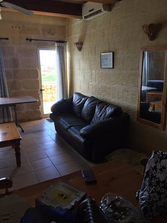 Bellavista Farmhouses Gozo: Comfortable lounge area