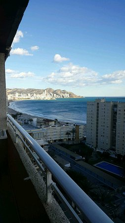 Apartamentos El Faro: Room 14E.. large balcony and beautiful view